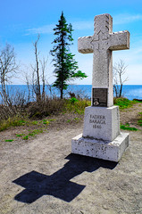 Father Baraga's Cross (WOODSHED Revisited) Tags: pentax lake superior north shore shoreline minn minnesota mn great lakes scenic highway 61 us route father baragas cross monument river schroeder knights columbus justpentax