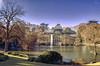 Palacio de Cristal... (Leo ☮) Tags: palaciodecristal parquedelretiro invierno enero arquitectura árboles lago relax luz color madrid