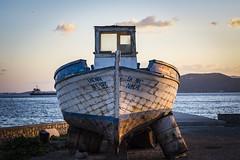 ΕΛΕΝΗ / ELENI BOAT (panos_adgr) Tags: helios 81n 50mm f20 boat subset sea sovietlens nikon d7200 ελευσισ greece