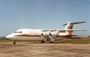 First BAe 146-200 (Gerry Rudman) Tags: bae hatfield dunsfold air wisconsin gwisc open day 1983 bbmye