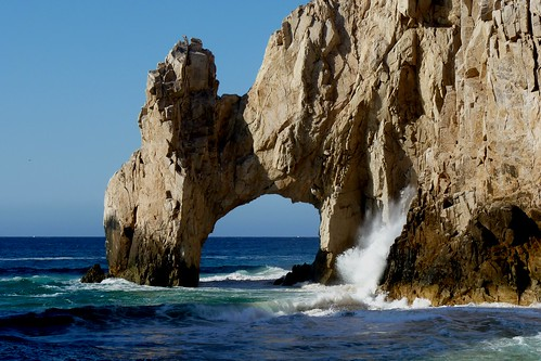 Crashing Waves at Land's End, Cabo San Lucas, Mexico