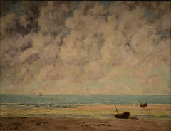 Gustave Courbet - The Calm Seas, 1869 at Metropolitan Museum of Art New York City NY (mbell1975) Tags: newyork unitedstates us gustave courbet the calm seas 1869 metropolitan museum art new york city ny nyc manhattan museo musée musee muzeum museu musum müze finearts fine arts gallery gallerie beauxarts beaux galleria painting met french