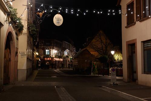 Décorations de Noël à Ribeauvillé