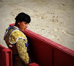 Leo Valadez (aficion2012) Tags: arles france francia novillada feria riz septembre 2016 corrida toros toreaux bull bullfight flight leo valadez blohorn jalabert novillo novillos manoletina