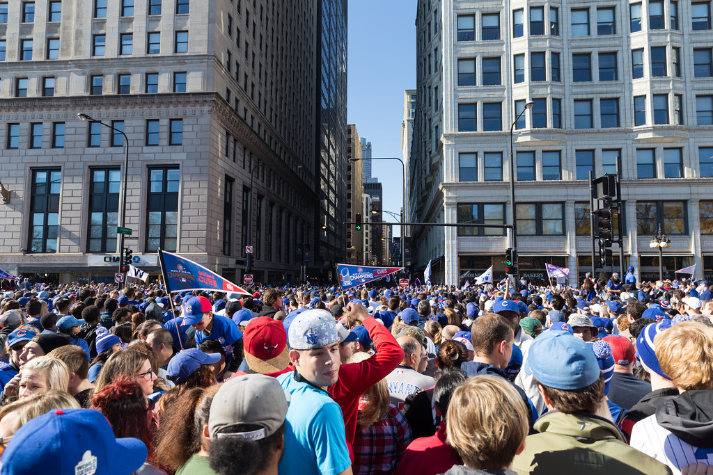 Chicago Cubs Rally by mastermaq, on Flickr