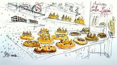 Galettes et rois, Melle, Maison Caillon-Gregoire (Croctoo) Tags: croctoo craýon croctoofr boulangerie patisserie galette rois melle poitoucharentes