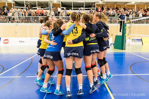 "3. Heimspiel vs. Volleyball-Team Hamburg • <a style=""font-size:0.8em;"" href=""http://www.flickr.com/photos/88608964@N07/32003257853/"" target=""_blank"">View on Flickr</a>"