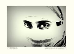 The Naqab (in Urdu) (Mriganka_Borah) Tags: naqab hijab muslim islam religious portrait headshot photography indoor monochrome black white art india