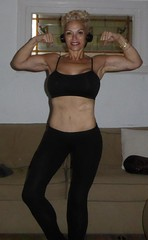 Hello 2017 - I'm 55 yrs old (BellaGaia) Tags: healthy lifestyle exercise maturewomen woman milf muscles fitness fit women wellness nutrition arbonne leggings black californialife