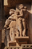 Figures In Stone (peterkelly) Tags: digital canon 6d india asia khajuraho kamasutratemple carving woman stone wall ornate sandstone