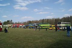 Line-up, South East Bus Festival, Detling (Gricerman) Tags: southeastbusfestival detling