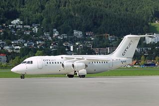Cityjet  British Aerospace Avro RJ85 EI-RJR - Innsbruck