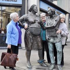 Solidarity (magaroonie) Tags: monumenttotheunknownwomanworker sculpture louisewalsh belfast nireland 7daysofshooting week29 imitations shootanythingsaturday