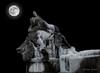 11 gennaio 2017. Composizione con Naiade ghiacciata e luna (adrianaaprati) Tags: ghiaccio ice frosty inverno winter gennaio january 2017 fountain roma italy freezedwater scultura sculpture arte art naiade naiad ninfa nymph mythology processing photoshop composit moon fullmoon