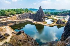 Podiyattupara Quarry | Melmuri | Malappuram | Kerala (Javid Ihsan) Tags: malappuram melmuri padiyattupara padiyattumpara 27 quarry kerala godsowncountry javid ihsan wide angle water lake photography