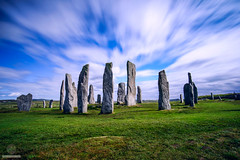 Calanish Stones - Isle of Lewis (w.mekwi photography [here & there]) Tags: grass longexposure calanaisstonecircle uk stones lawn outdoors landscape wmekwiphotography scotland nikond800 outerhebrides
