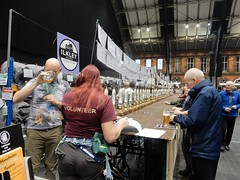 Manchester Beer Fest (deltrems) Tags: manchester beer cider fest festival real ale central station gmex camra drinkers people men women