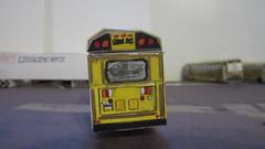 X269 - Trans Conglomerate Bus 8 (Etienne Luu) Tags: thomas built buses saf t liner saftliner hdx handicap accessible handy wheelchair lift paper cardstock model bus school
