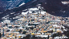 Colorful (Nicola Pezzoli) Tags: nature snow winter bergamo lombardia italy tourism colors colorful village peia val gandino leffe