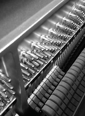 Piano interior (augustinecollective) Tags: piano music blackandwhite photo photography