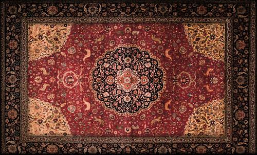 """Alfombras, espacios íntimos que simbolizan templos, árboles de la vida y el conocimiento, astros y paradisos. • <a style=""""font-size:0.8em;"""" href=""""http://www.flickr.com/photos/30735181@N00/32487288991/"""" target=""""_blank"""">View on Flickr</a>"""