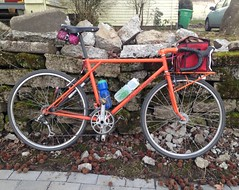 Off-road kit bike (Tysasi) Tags: photostream kitbike bespokefopchariottm 650b randonneuse randonneur bike