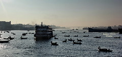 Buriganga River (sajan-164) Tags: buriganga river sadarghat terminal dhaka bangladesh outdoor boats vessel ply water ripples sajan164
