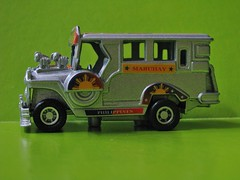 Jeepney (streamer020nl) Tags: metal silver toy toys philippines souvenir vehicle jeepney diecast mabuhay