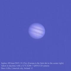 Jupiter-09June2015, 2115 (Dave Lillis) Tags: irishastronomy shannonsideastronomy