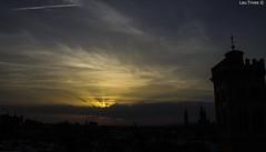 Atardecer en Zaragoza (Laura Trives) Tags: espaa atardecer zaragoza