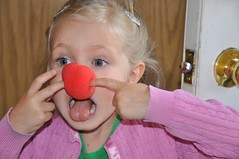 And clown girl - Grandma always has the best stuff!