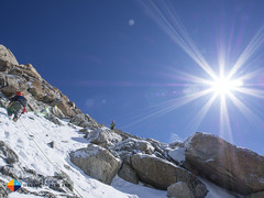 Arriba (HendrikMorkel) Tags: mountains alps mountaineering chamonix alpineclimbing artedescosmiques arcteryxalpineacademy2015