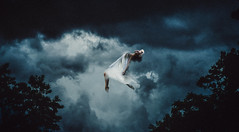 The Kiss (White_Sails) Tags: portrait storm art clouds photoshop self photography fine surreal manipulation concept conceptual