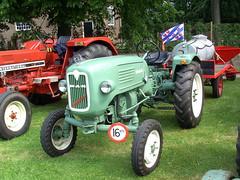 1957 MAN Ackerdiesel tractor (Davydutchy) Tags: auto tractor man holland classic netherlands car automobile otto vehicle paysbas friesland tracteur trecker trekker oldtimershow klassiker frysln vetern agrarisch agricole automobiel stnicolaasga sintnyk agrarwirtschaft stnyk sintnicolaasga ackerdiesel schleppmaschine