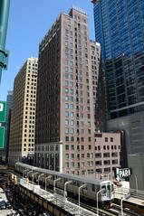 CTA 5109 in Chicago, N Wabash Av DDC_2888 (foto_DM) Tags: chicago cta ubahn l elevated chicagotransitauthority hochbahn chicagol chicagoelevated