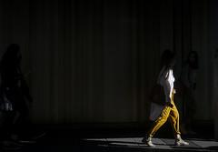 In Yellow (Olderhvit) Tags: street yellow lumix photography sweden gothenburg streetphotography streetphoto minimalism goteborg 2015 gatufoto gatufotografi framingthestreet olderhvit dmcgx1