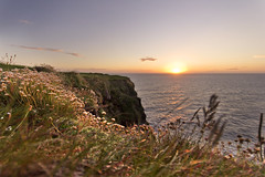 Loop Head, Clare, Ireland (ConorLuddy) Tags: ocean ireland sunset seascape nature water landscape clare waves cliffs atlantic