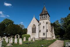 South Downs I (Steve Vallis) Tags: park sky church cemetery downs south graves national