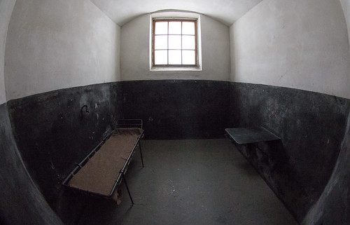 Prison cell at Oreshek Fortress