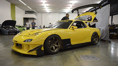 RX-7 (Joshua D. Williamson) Tags: sf show sanfrancisco california ca cars car yellow sanjose automotive event sj modified tuner mazda rx7 fd modify 2015 wekfest