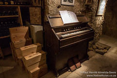 Piano In A Wine Cave In Châteauneuf-du-Pape, Provence, France