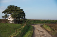 Little chapel on the road.