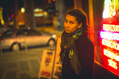 Look (G.Clark Photography) Tags: canon t3i 50mm kim disappointed annoyed downtown seattle christmas time