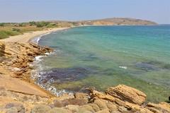 Red Rock beach (Fif') Tags: greece grèce griechenland hellás hellas égée aegean 2016 limnos lemnos island île grècque greek λήμνοσ