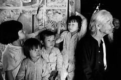 Philip Jones Griffiths - South Vietnam 1970 (manhhai) Tags: affiche asianfareastorigin asiatiquedelextrêmeorient babyboy0to3years babygirl0to3years barbe beard bébéfille0à3ans bébégarçon0à3ans bouddha buddha deprofil detroisquarts extérieur exterior fatigue femme60ansetplus fille3à13ans girl3to13years grandparent homme60ansetplus iconographiereligieuse man60yearsandolder poster profile pyjama pyjamas religiousiconography sidewaysglance woman60yearsandolder