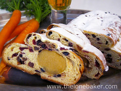 'Perfect Christmas' Stollen - ABC bake (The Lone Baker) Tags: stollen marzipan almond paste christmas baking carrots orange white indoor food rum