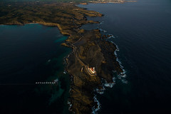 """Favaritx. (¡arturii!) Tags: wow amazing awesome superb interesting stunning impressive nice beauty great arturii arturdebattk """"canonoes6d"""" gettyimages travel trip tour route viatge holidays vacations favaritx menorca minorca island lighthouse phantom3 drone dron aerial landscape shoreline north coast waves mediterranean sea balearic islands spain land outdoor cool up view"""
