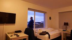 Inside Room of Mar Guesthouse (bacon.dumpling) Tags: grindavík iceland indoor marguesthouse nikond750 oneperson person room sigma24mmf14dghsmart tourism