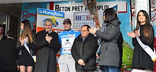 Nico DENZ (AG2R La Mondiale) 1er au classement des grimpeurs