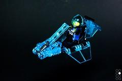 HC 7500 (Cole Blaq) Tags: coleblaq cyberpunk lego legomodel bike hover hoverbike levitation scifi sciencefiction speederbike tron